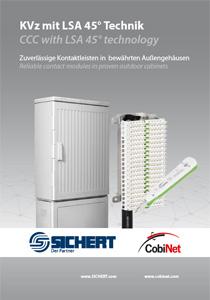 Flyer CobiNet Sichert KVz