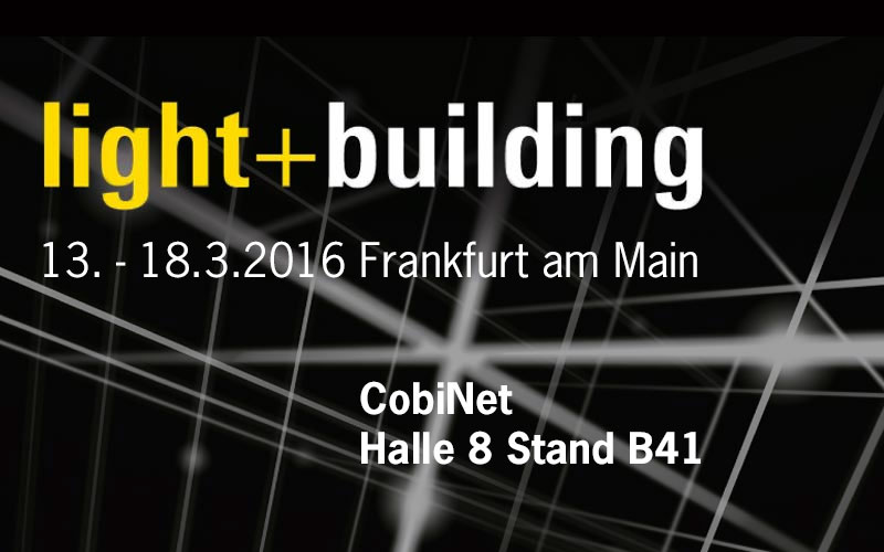CobiNet auf der Light & Building 2016