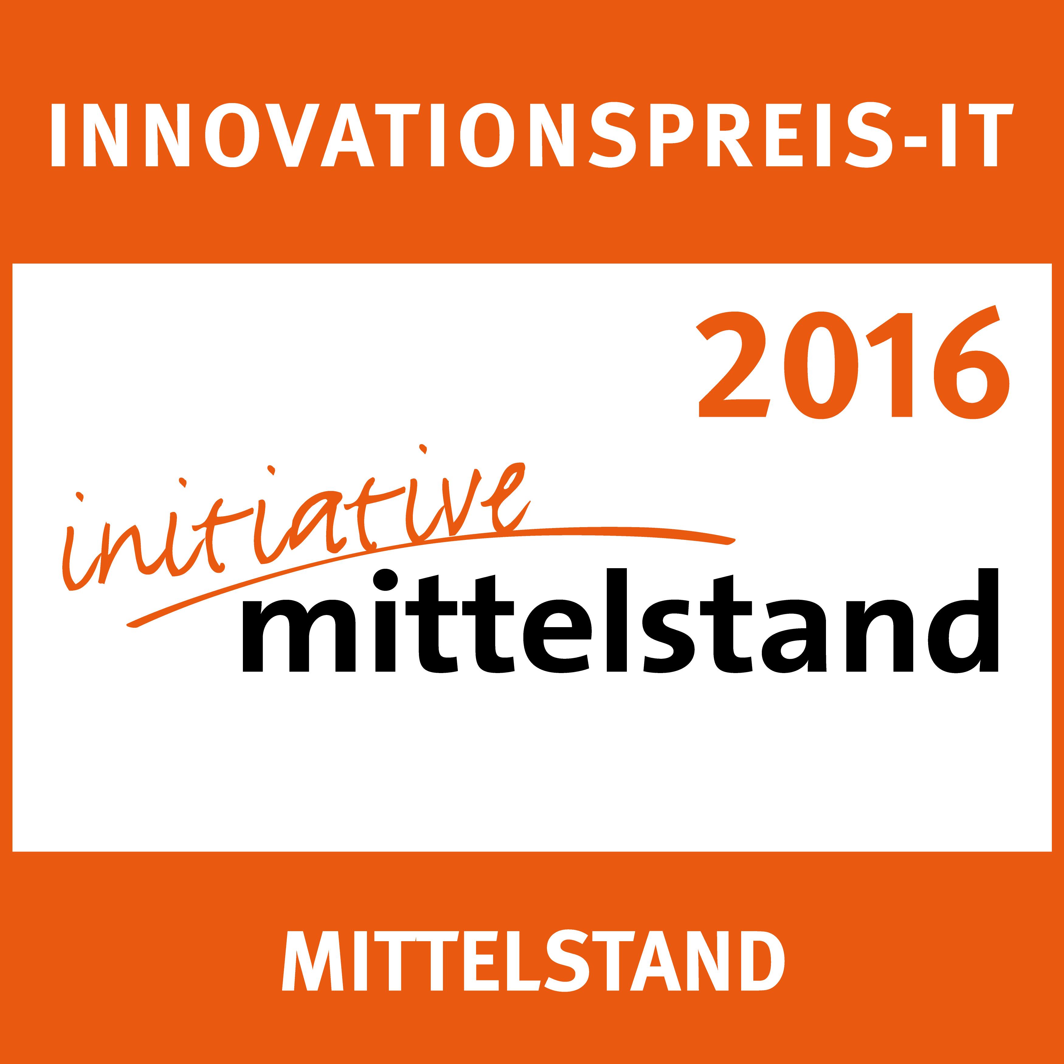 Innovationspreis IT 2016